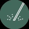 Laserterapia round icon